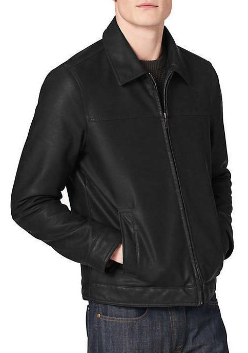 TOMMY HILFIGER LEATHER XXL NEW NWT MSRP $195