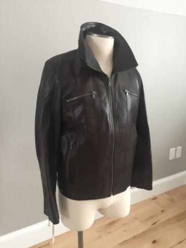Men's Kenneth Bomber Cole NWOT BROWN