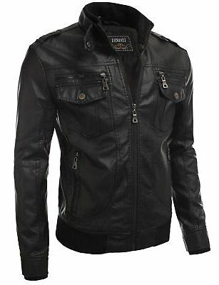IDARBI Premium Faux Leather Jacket ...
