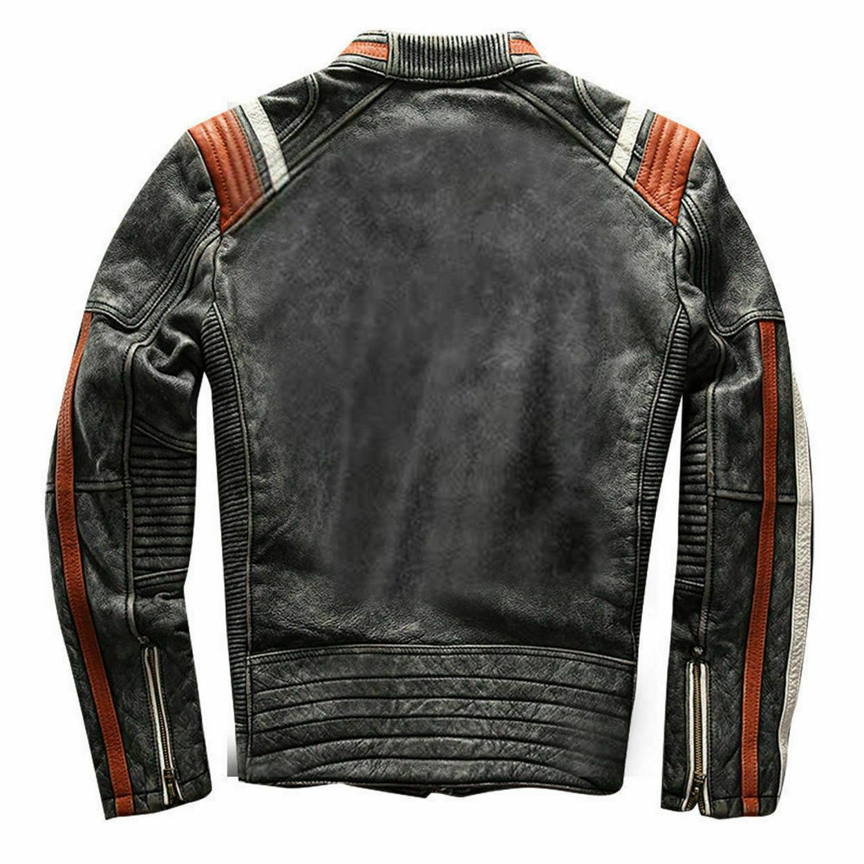 Men's Racer Moto Distressed