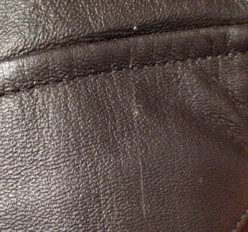 LANDING LEATHERS MENS A-2 LEATHER FLIGHT JACKET BROWN MEDIUM NWD