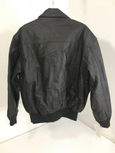 LANDING LEATHERS LEATHER JACKET BROWN NWD