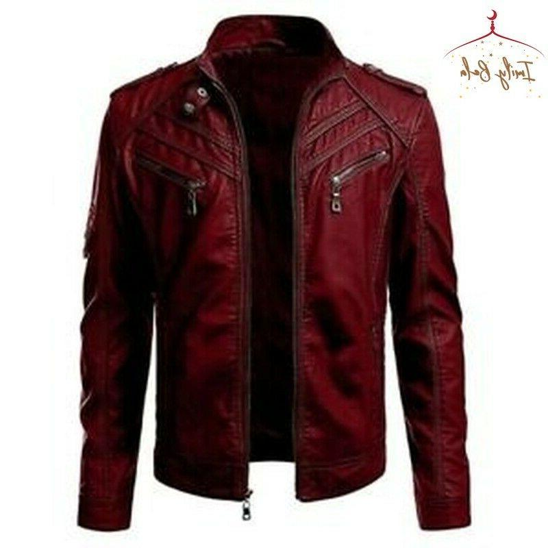 Mens Autumn Warm Coats Jackets Style Cool Outwear