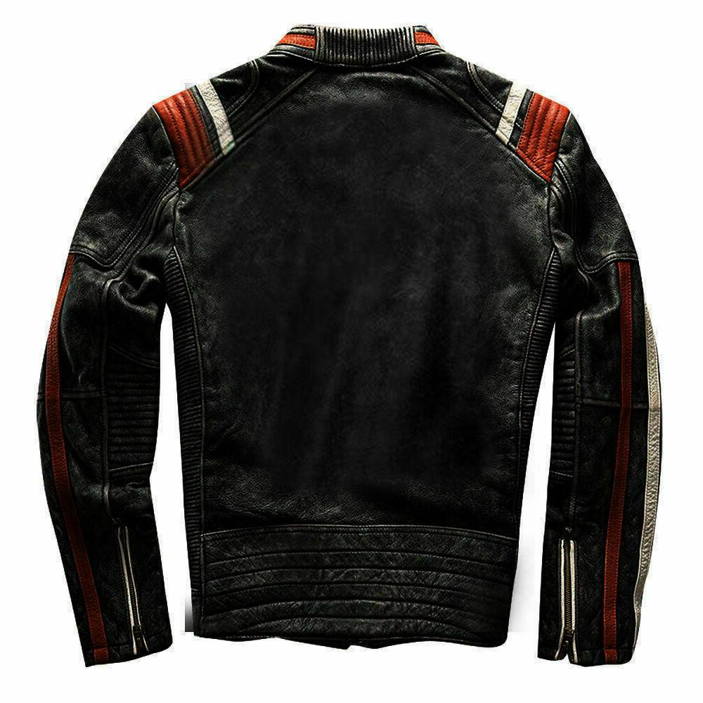 Cafe Racer Retro Distressed Jacket
