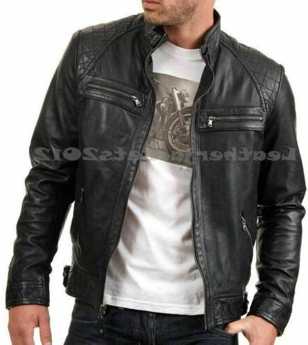 Mens Black Leather Jacket Leather Style
