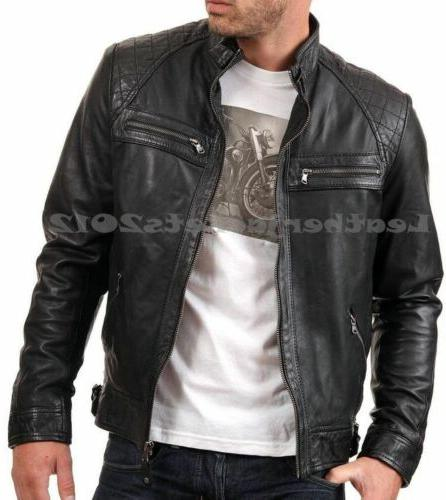 Mens Leather Genuine Sheep Style ST-82