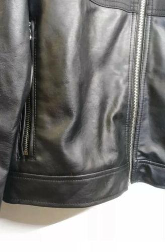 Kenneth Cole Reaction Mens Faux Moto Size Combo