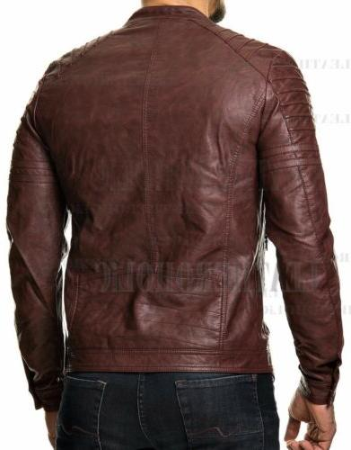 MENS VINTAGE LEATHER SLIM