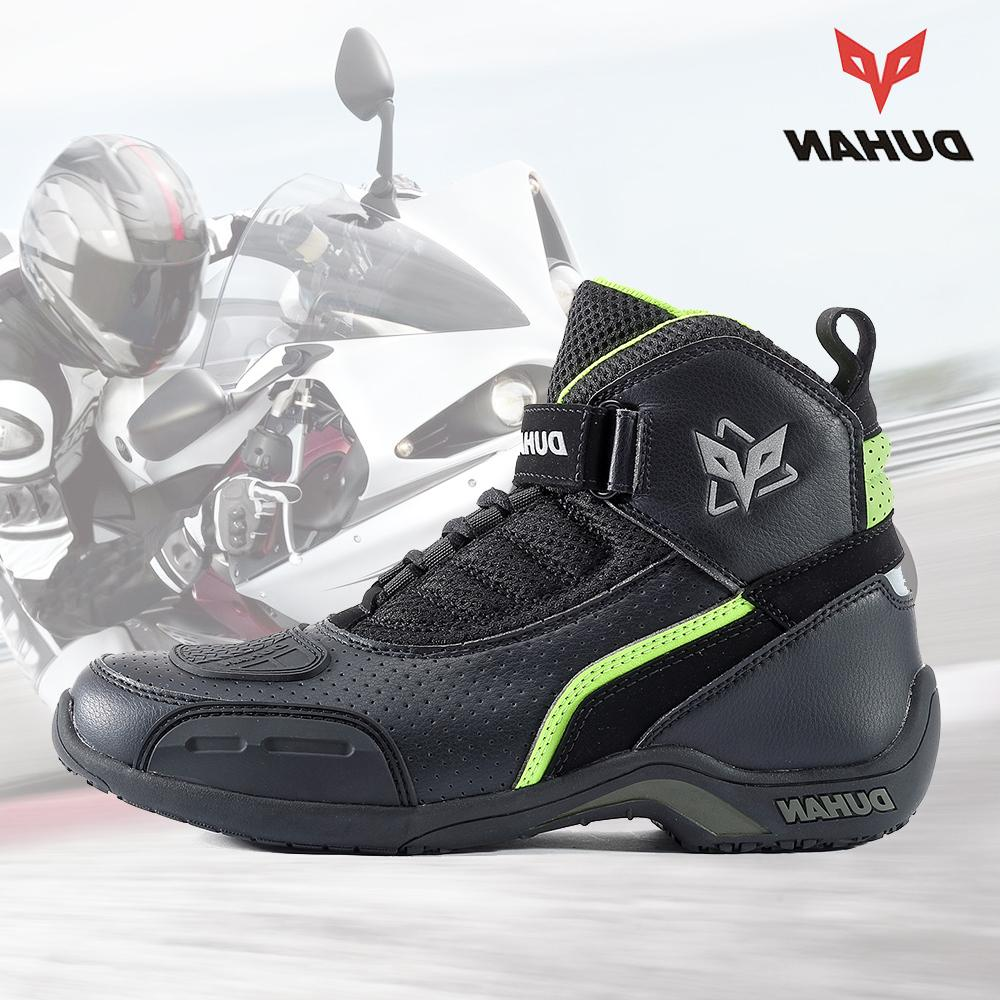motorcycle boots men summer breathable font b