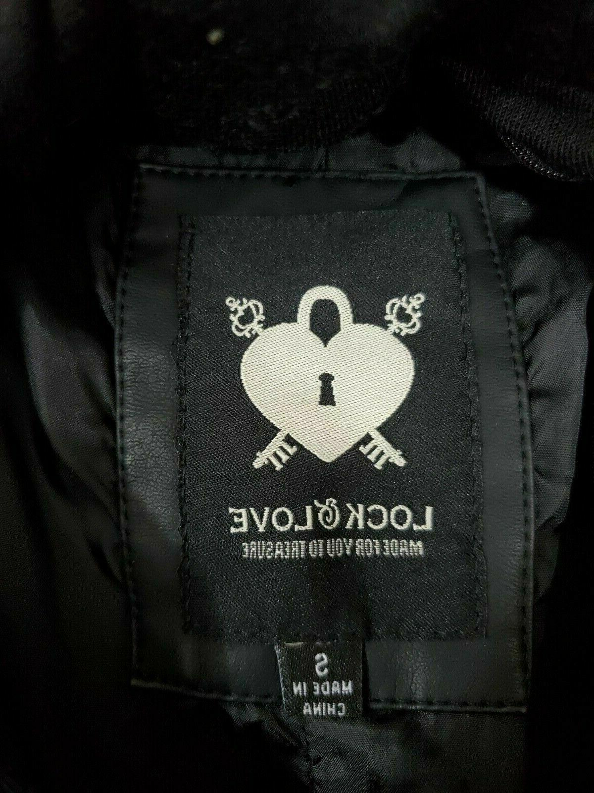 Lock and Motorcycle Jacket Womens NWT