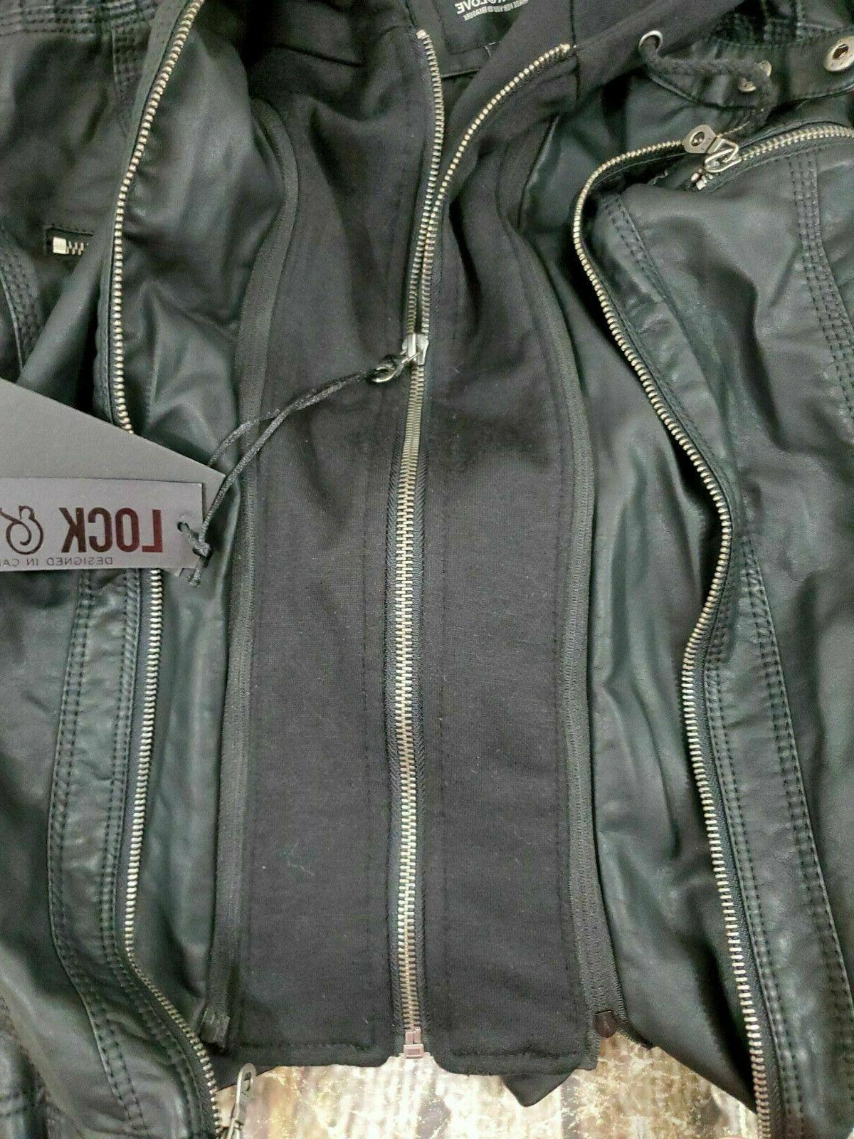 Lock Jacket Small Womens NWT Faux