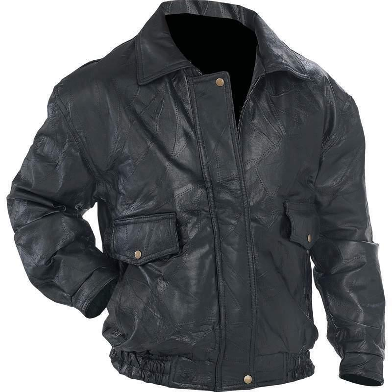 napoline men leather jacket delivery in about