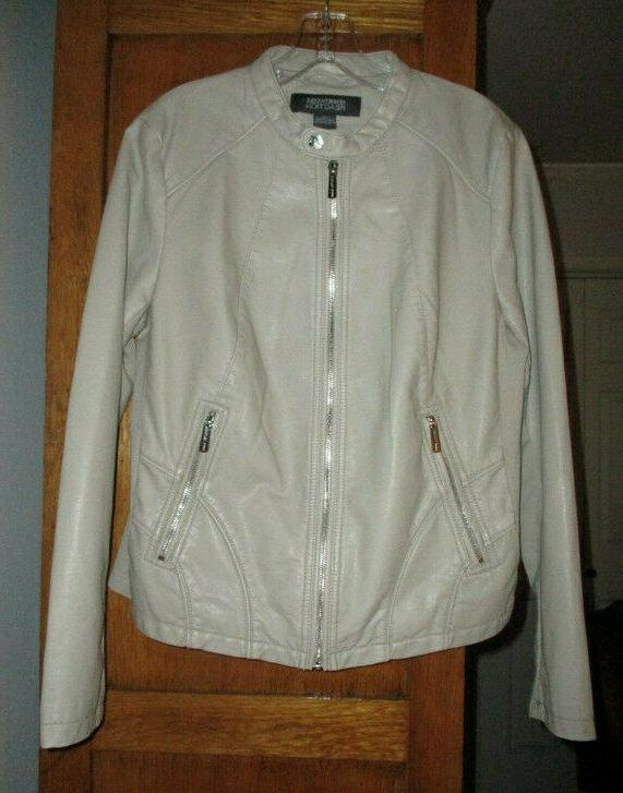 KENNETH COLE Zip Faux Jacket Sz NWOT