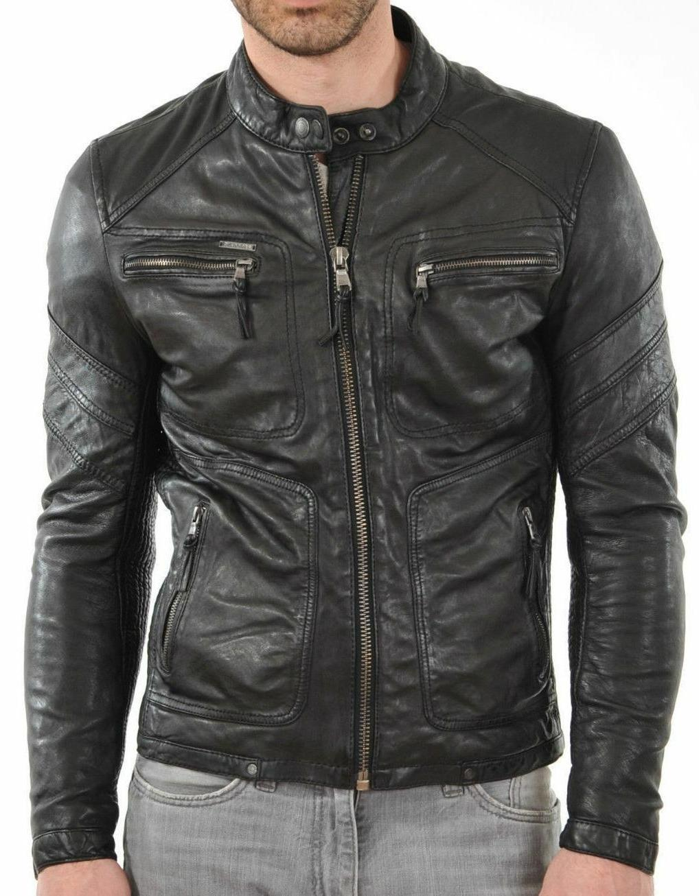 New Leather Outwear Jacket