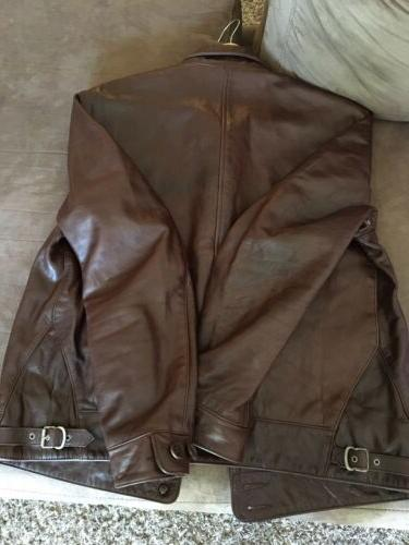 NEW Levi's Italy Leather Jacket Mens M