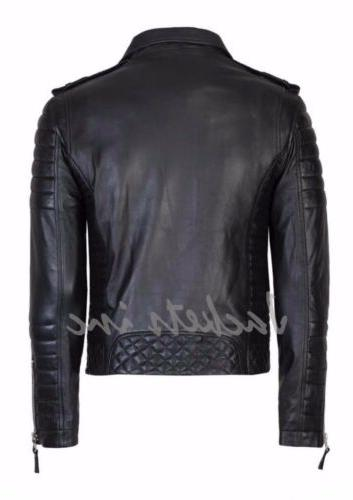 New Genuine Leather Jacket BROWN jacket