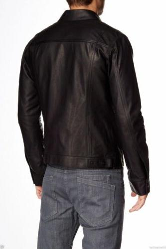 New Leather Slim Fit Black Jackets