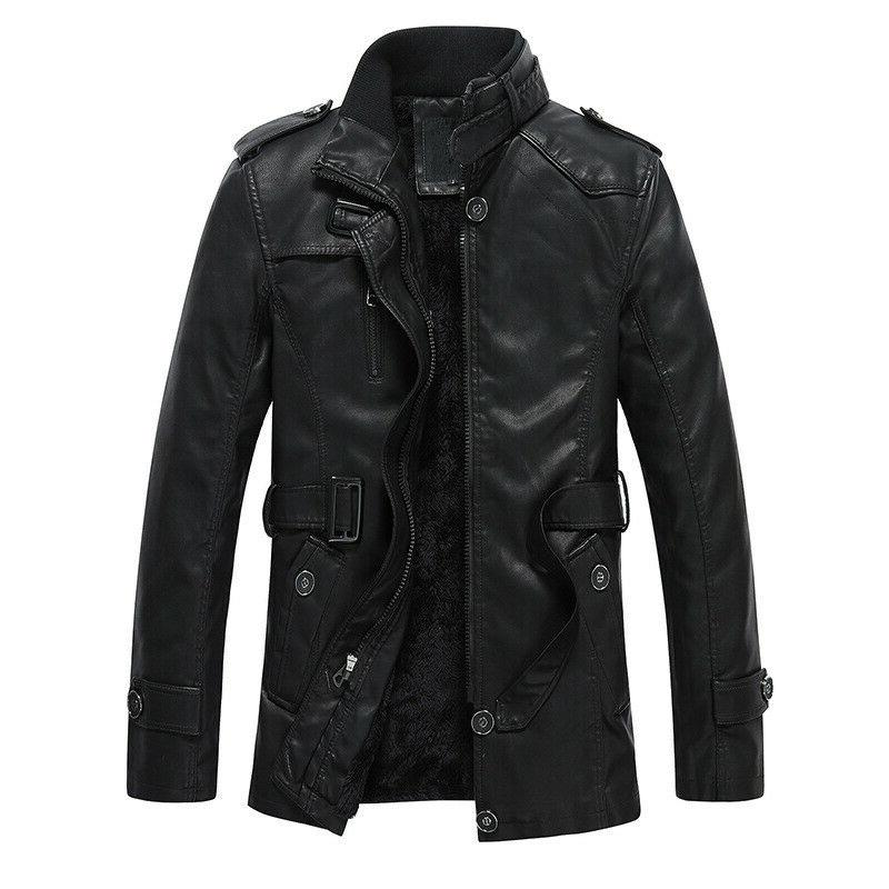 new winter thicken men s leather faux