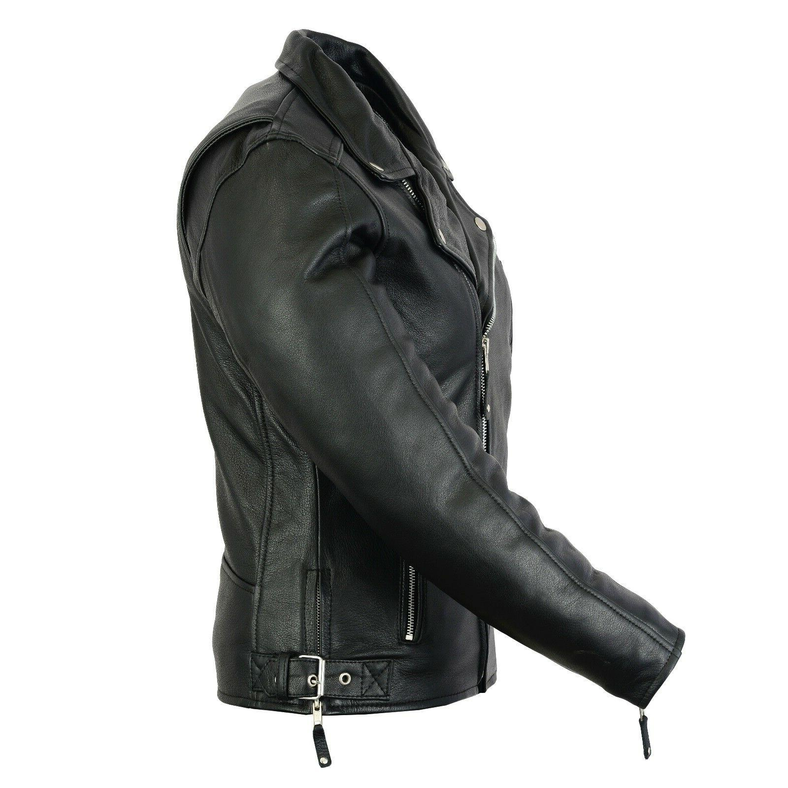 New Style Moto Cowhide