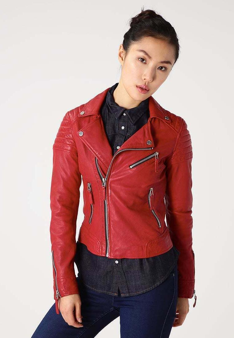 new women s leather jacket slim fit