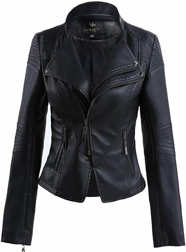 new womens leather jacket genuine lambskin real