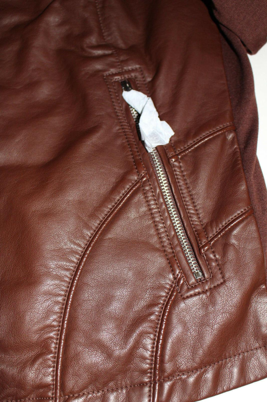 NWT Cole Reaction Ladies' Leather Jackets, Motorcyle stye,