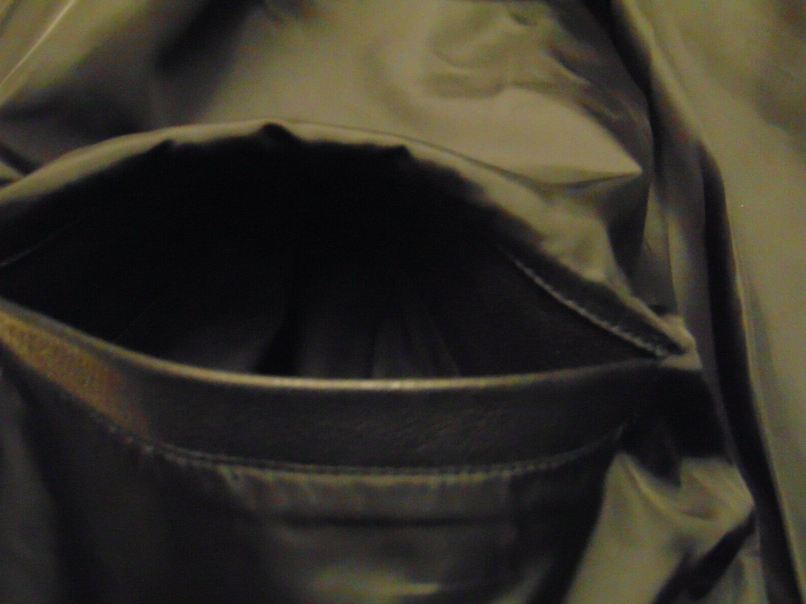 NWT MEN'S 100% LEATHER