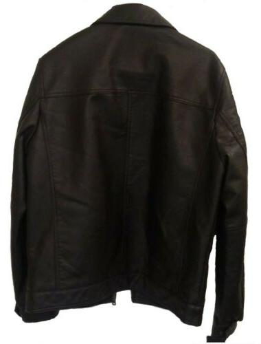 Tommy Faux-Leather Jacket