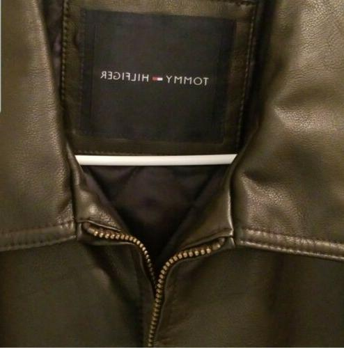 Tommy Hilfiger NWT Faux-Leather Jacket