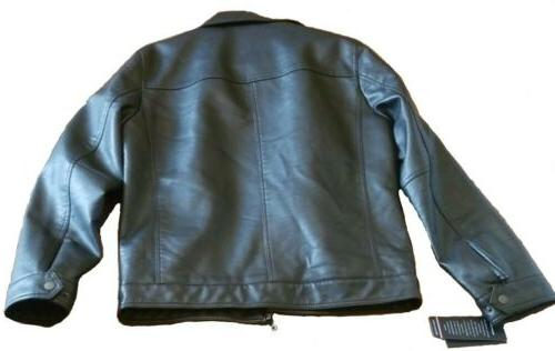 Tommy Hilfiger Faux-Leather Jacket