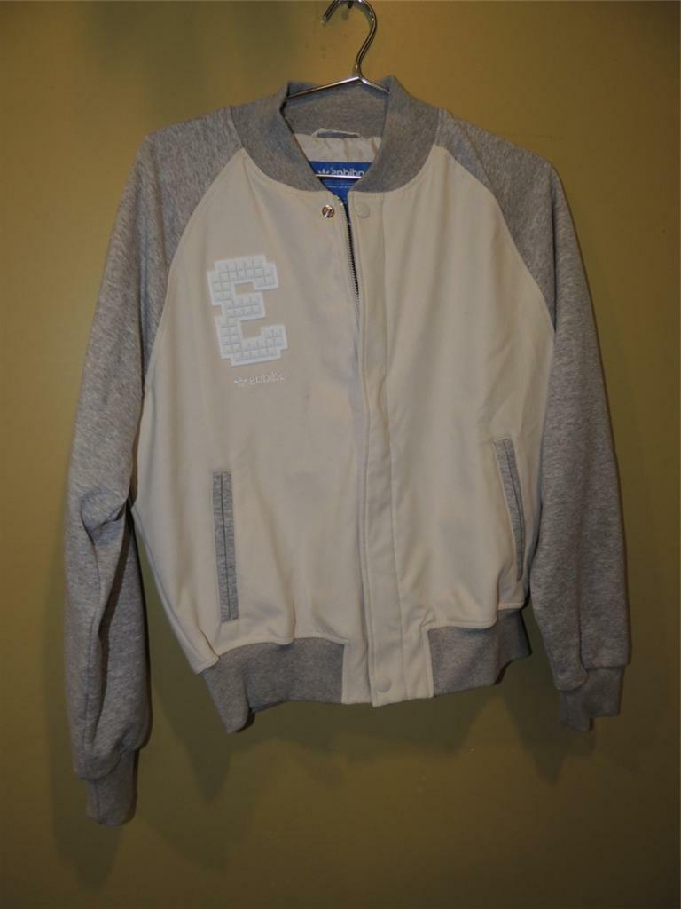 Adidas Originals EF Supergirl Faux Leather Jacket Bliss/Gray