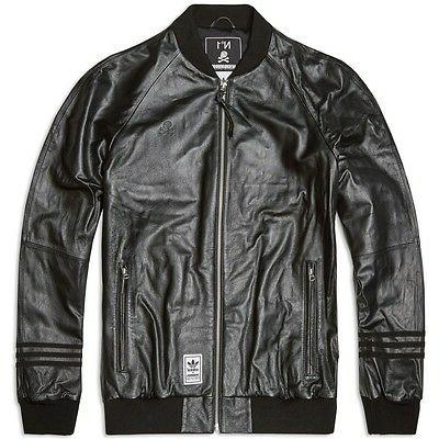 ADIDAS ORIGINALS NEIGHBORHOOD LEATHER JACKET NH OBYO KZK MAS