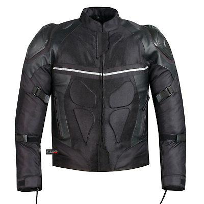 PRO MOTORCYCLE BLACK WITH EXTERNAL ARMOR