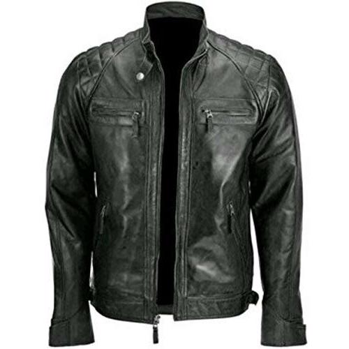 Skull Motorcycle Leather Jacket Best