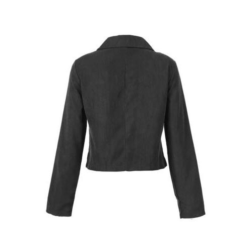 USA Women Jackets Bomber Cool Outerwear Zip Coat