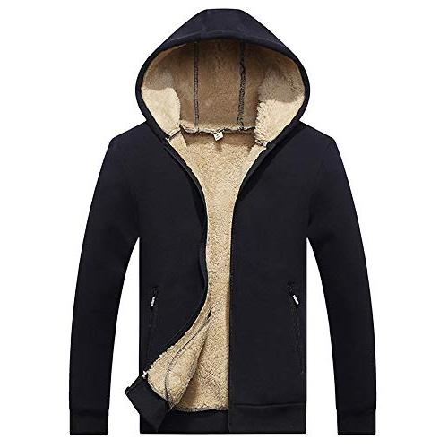 winter hooded thick jacket plus