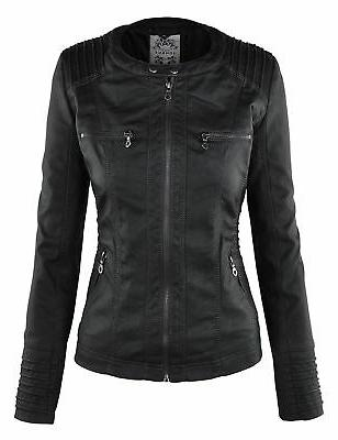 Made WJC663 Womens Removable Hoodie Jacket L