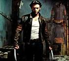 Wolverine Logans Leather Jacket Top Men's Collar PU Leather