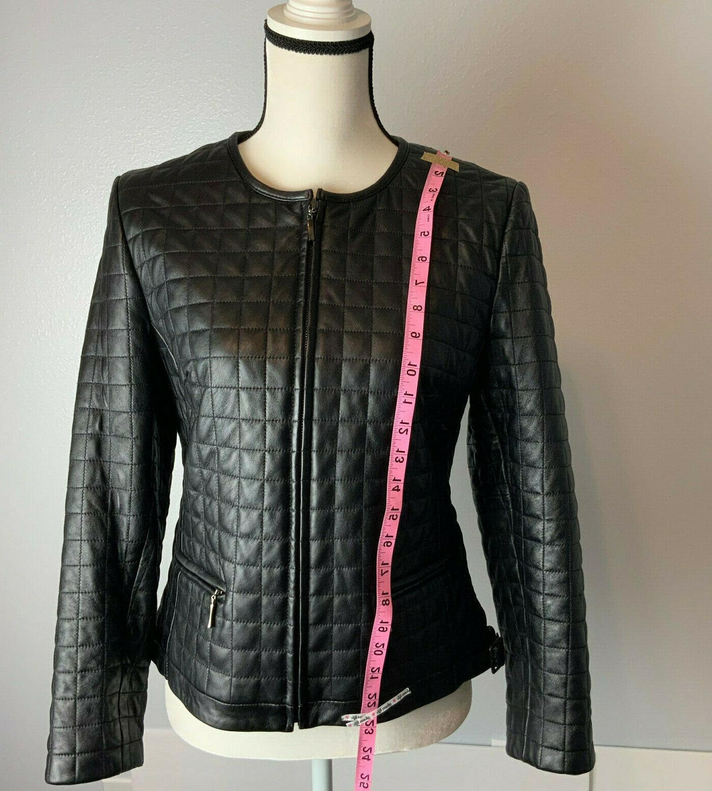 Women Leather Moto
