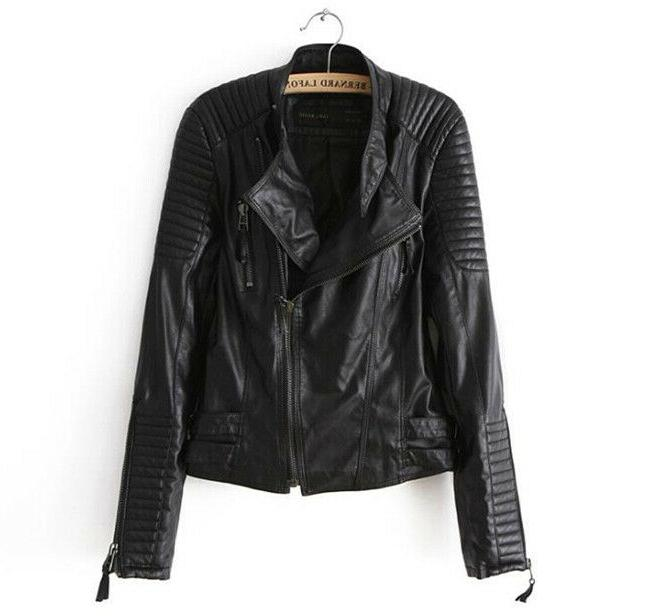 Women's Real Jacket Slim Biker