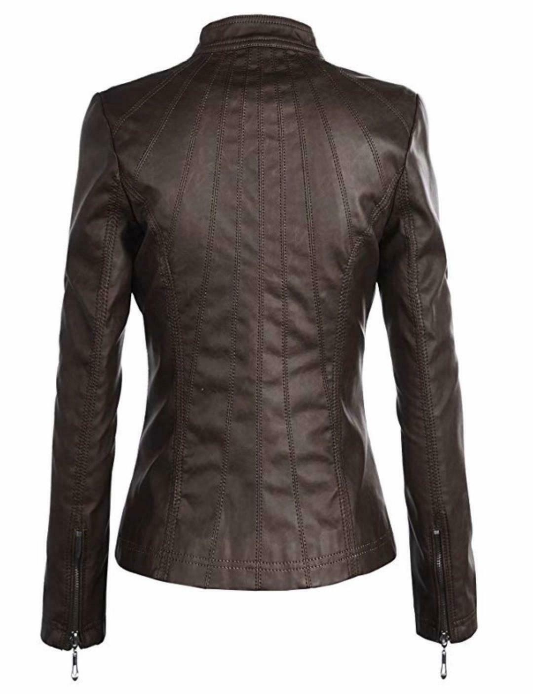 Lock Quilted Faux Leather XXL NWT