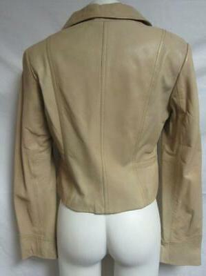 Kenneth Cole Womens Size Leather Jacket 1981