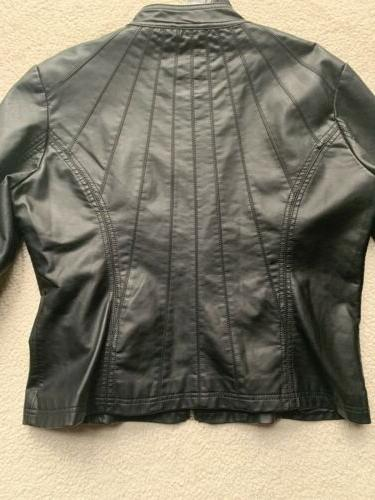 Made By Womens XL Leather Up - NWT