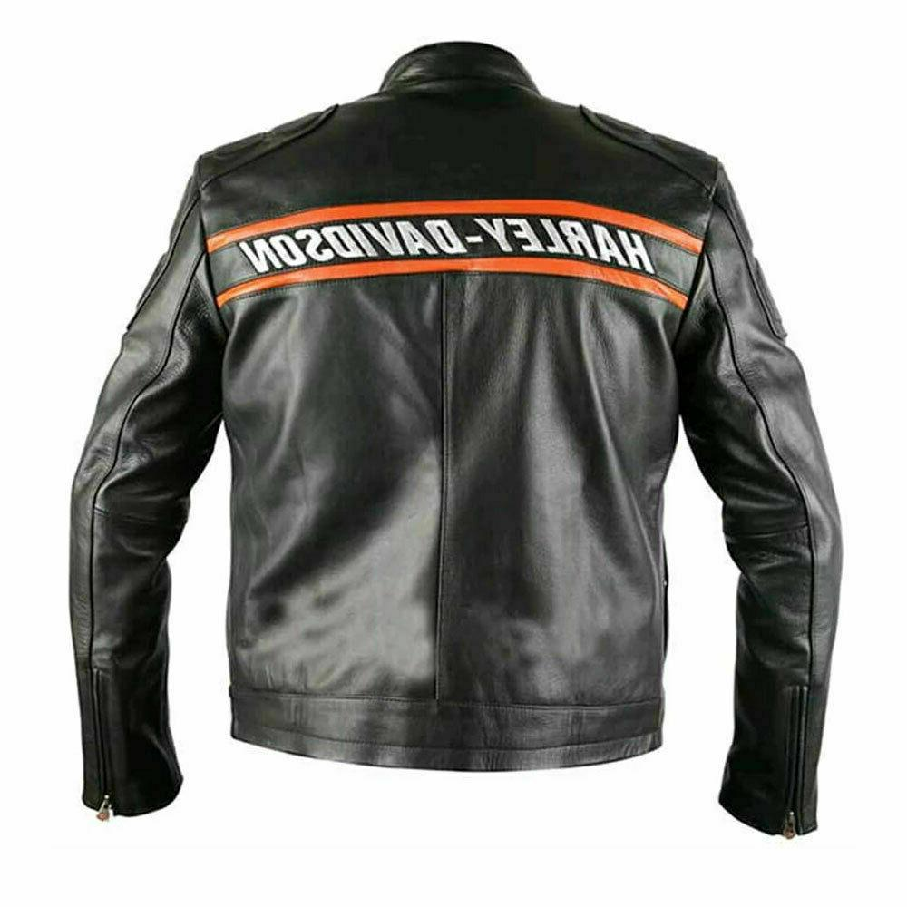 WWE Bill Davidson Biker Motorcycle Jacket
