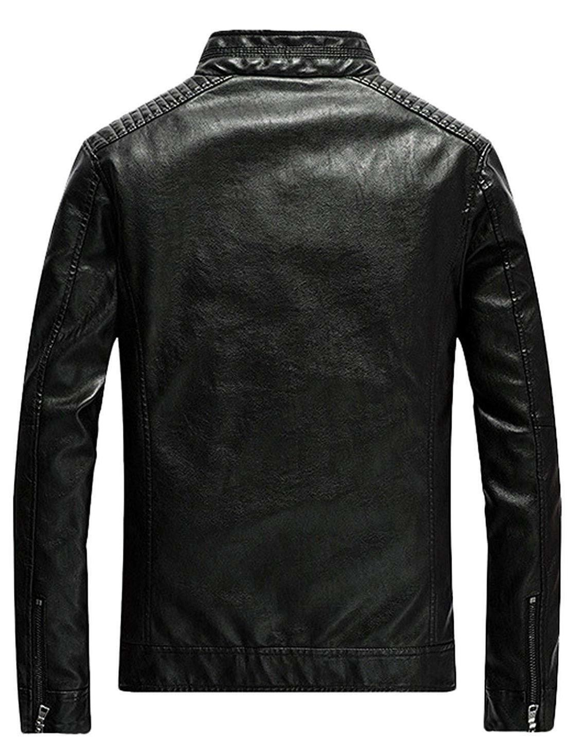 Youhan Men's Up Leather