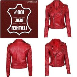 Blingsoul Leather Jackets For Women - Ladies Motorcycle Leat