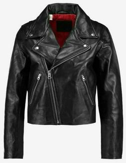 Levi's 100% Genuine Sheep Leather Moto Jacket $300 - Women's
