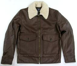 Levi's Made Crafted Pilot Jacket Made Italy Leather Levi Str