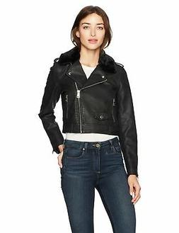 Levi's Women's Belted Assymetrical Motorcycle Jack - Choose
