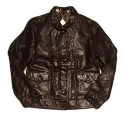 Levi's Menlo Cossack Leather Jacket - Small